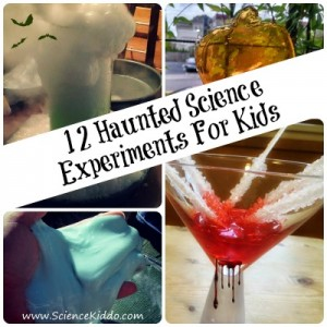 12 Haunted Science Experiments For Kids - TheHomeschoolScientist.com