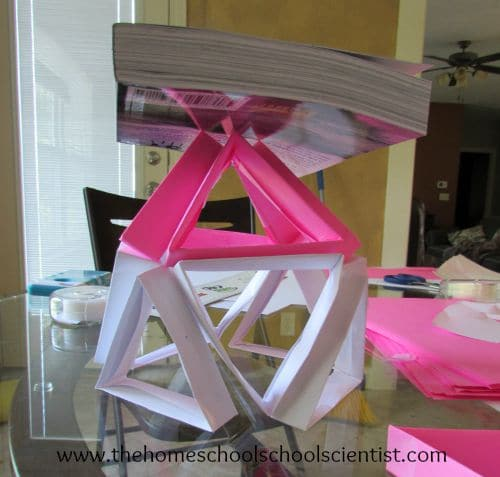 paper structures engineering challenge